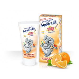 Зубная паста Апельсин AQUARELLE KIDS50 ml Болгария