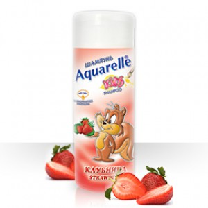 Шампунь Клубника AQUARELLE KIDS200 ml Болгария
