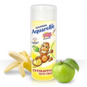 Шампунь Тутти-фрутти AQUARELLE KIDS200 ml Болгария